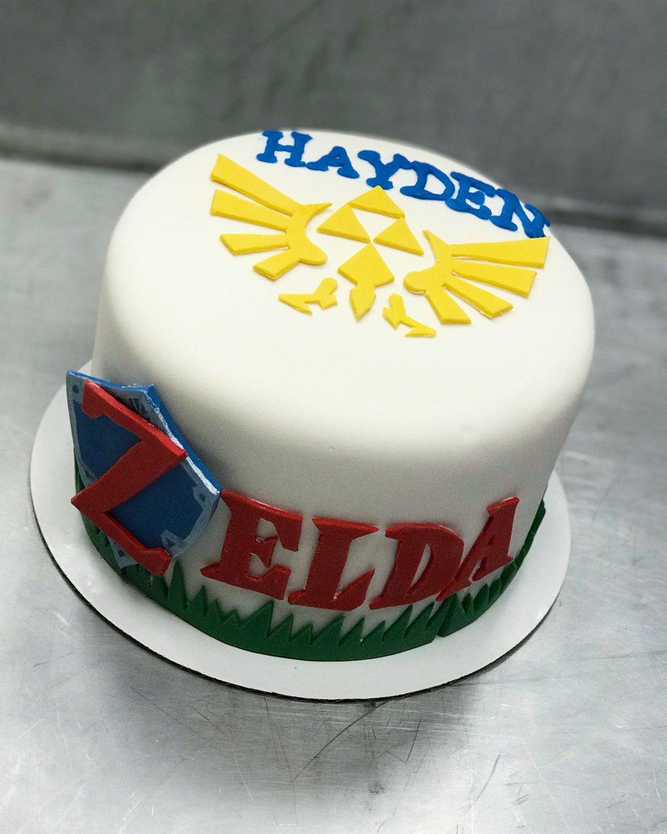 Awe Inspiring Frostings On Twitter We Loved Making This Zelda Cake Zelda Funny Birthday Cards Online Elaedamsfinfo