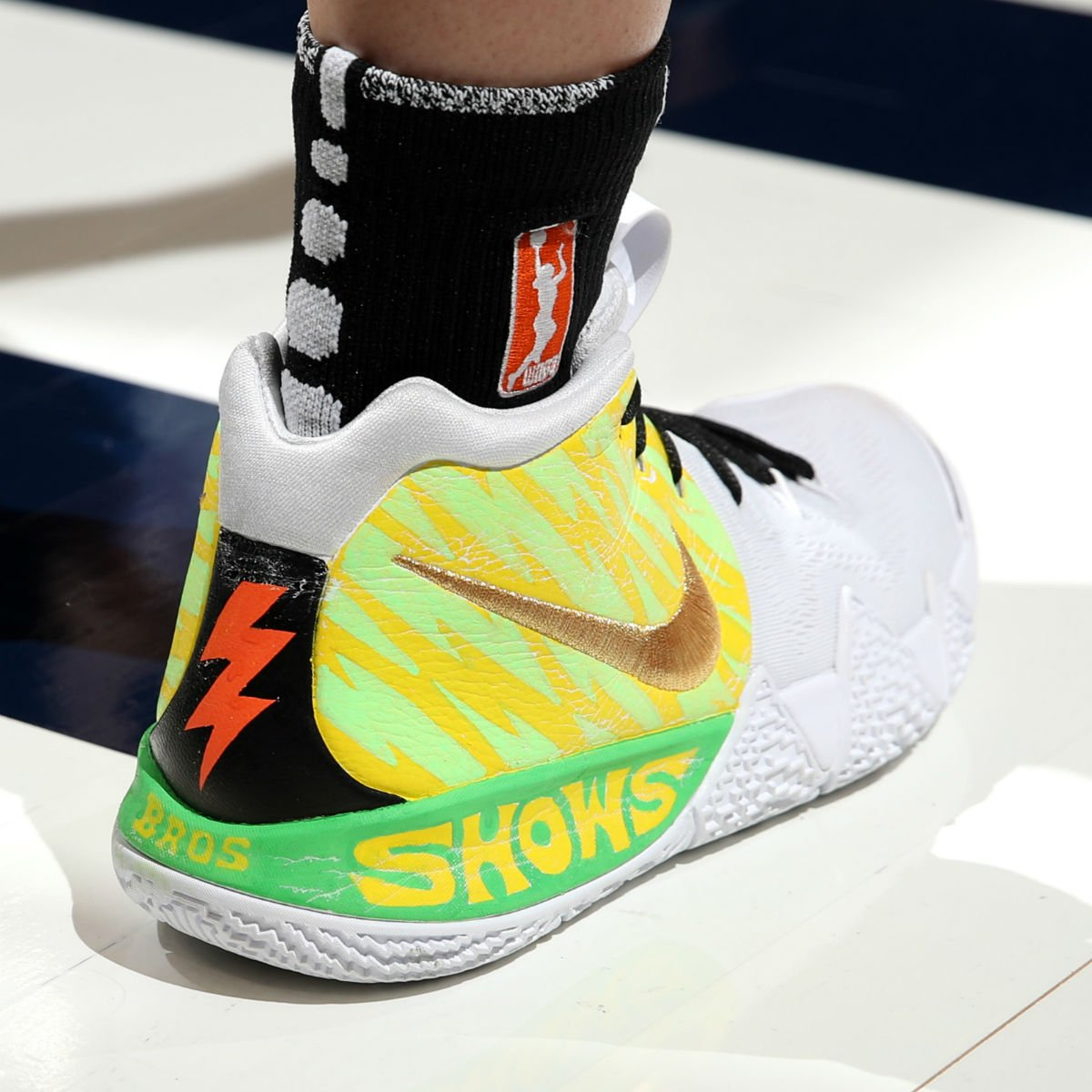 eb193262dce1f2 s pearl jam inspired custom nike kyrie 4s from the wnba all star game are  being