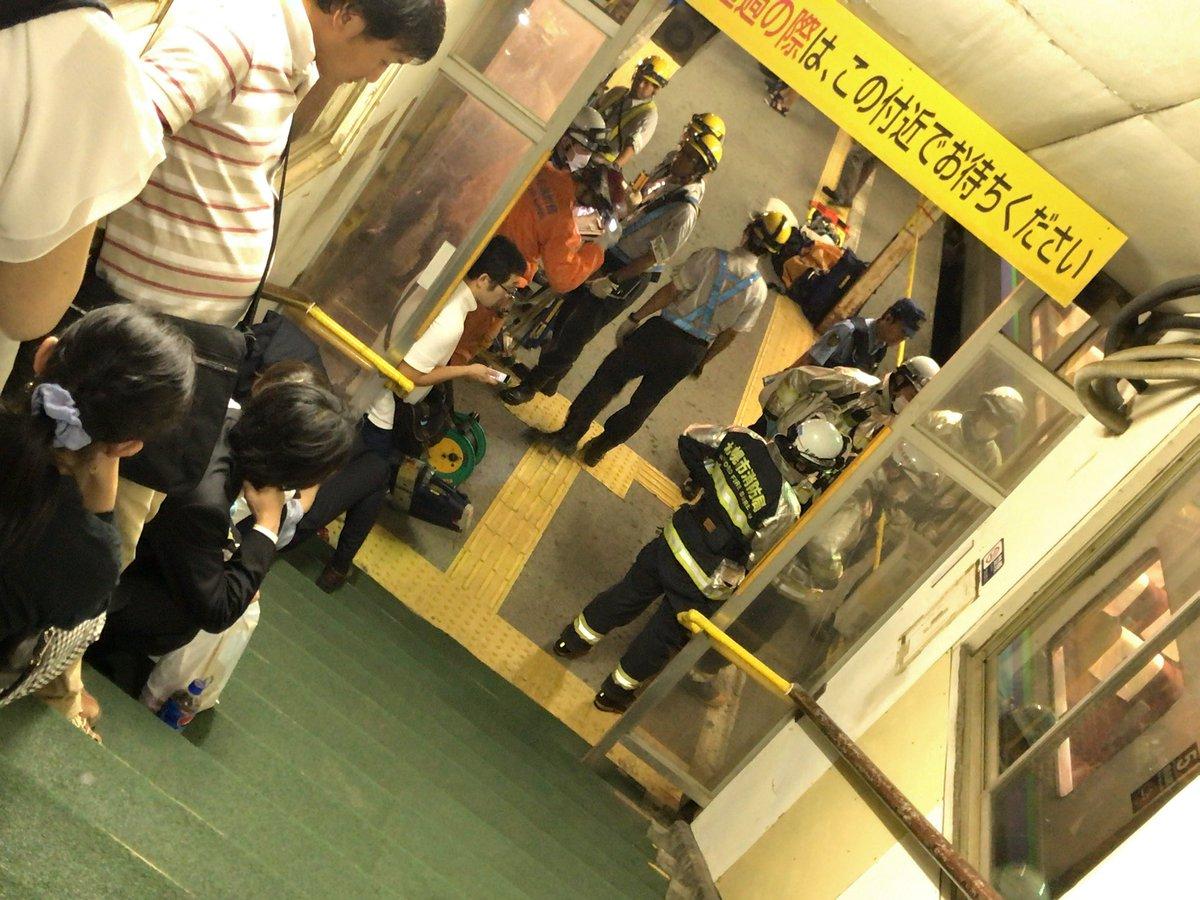 苗穂駅でカップルが飛び込み自殺した当時の現場画像
