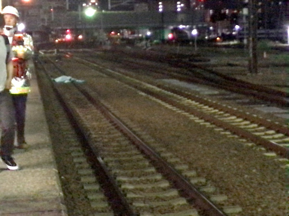苗穂駅で男女2人が飛び込み自殺図った人身事故の画像