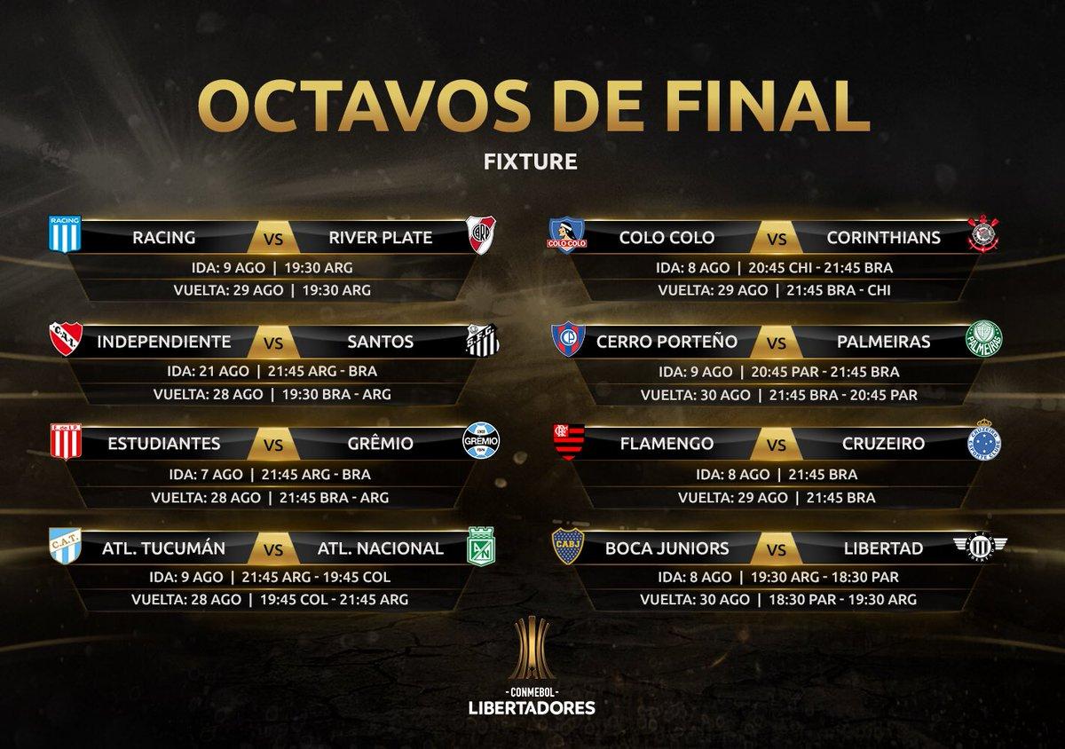 ¡No falta nada! 🔜🏆@libertadores   Solamente 🔟 días para que vuelva la Copa que más nos importa 😍