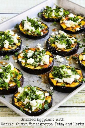 Recipe > Fresh Herbs>Grilled Eggplant with Garlic-Cumin Vinaigret - https://t.co/yZrYzHaVjG #recipe https://t.co/YKyMMZBDsC