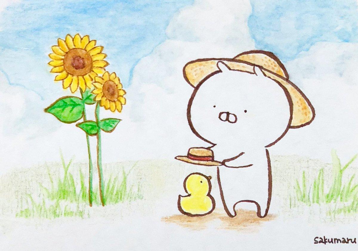 Sakumaru うさまるといっしょ S Tweet うさまるの夏休み2 帽子
