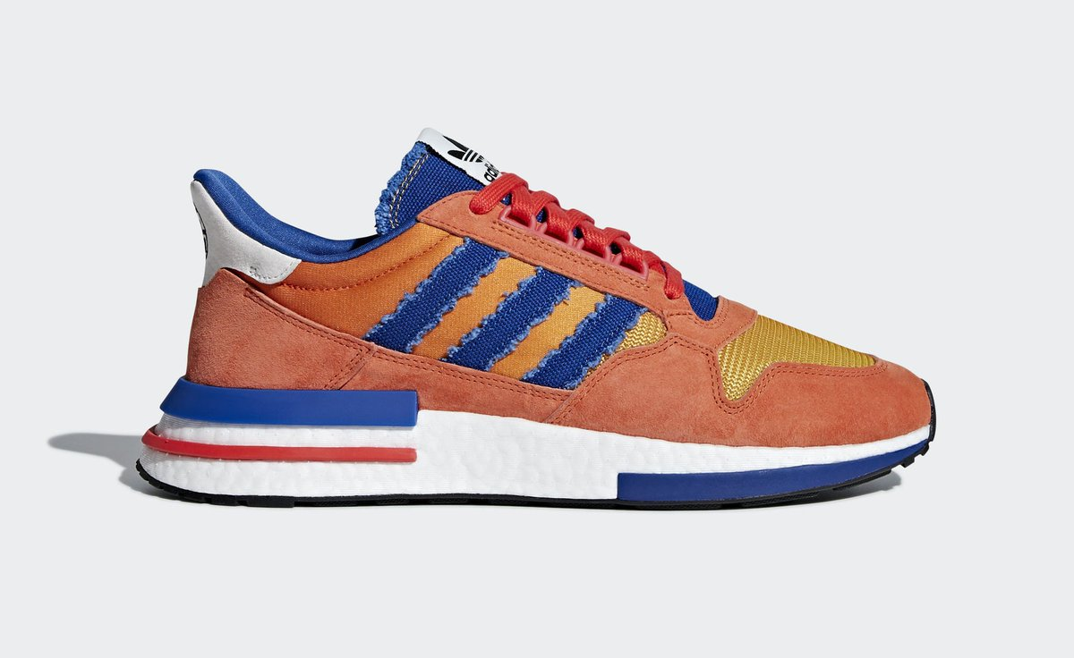 3505bcd4a7a82 Official Look at the Dragon Ball Z x adidas ZX 500 RM