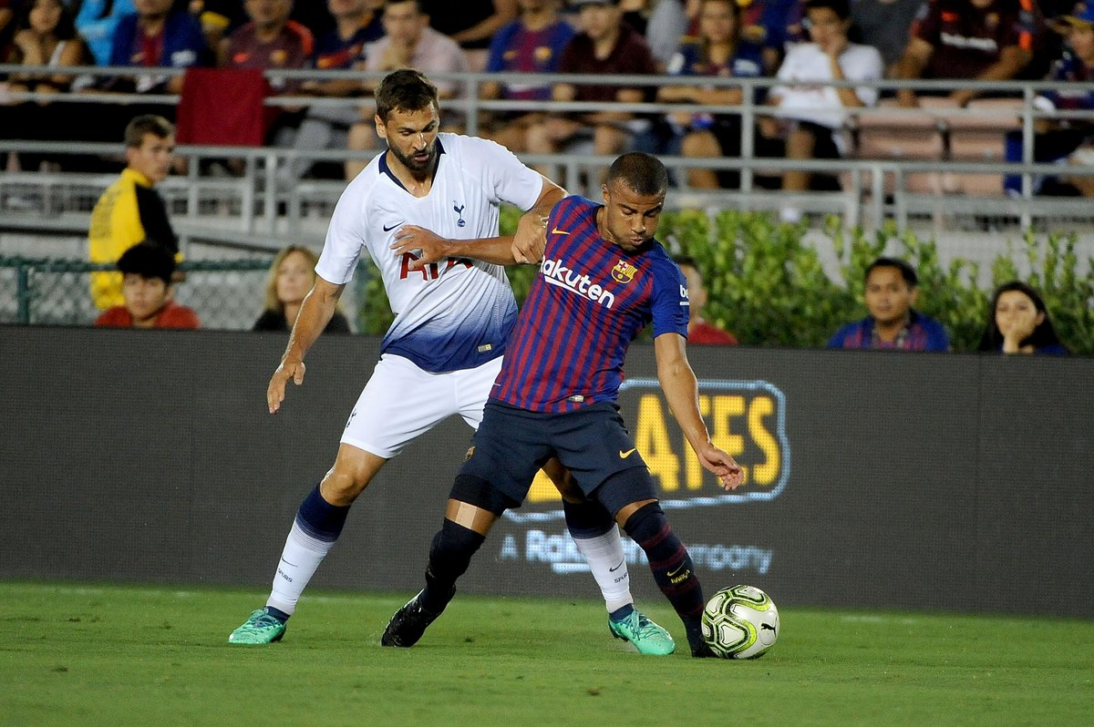 Barcelona vs Tottenham 5-3 Highlights & Goals Video