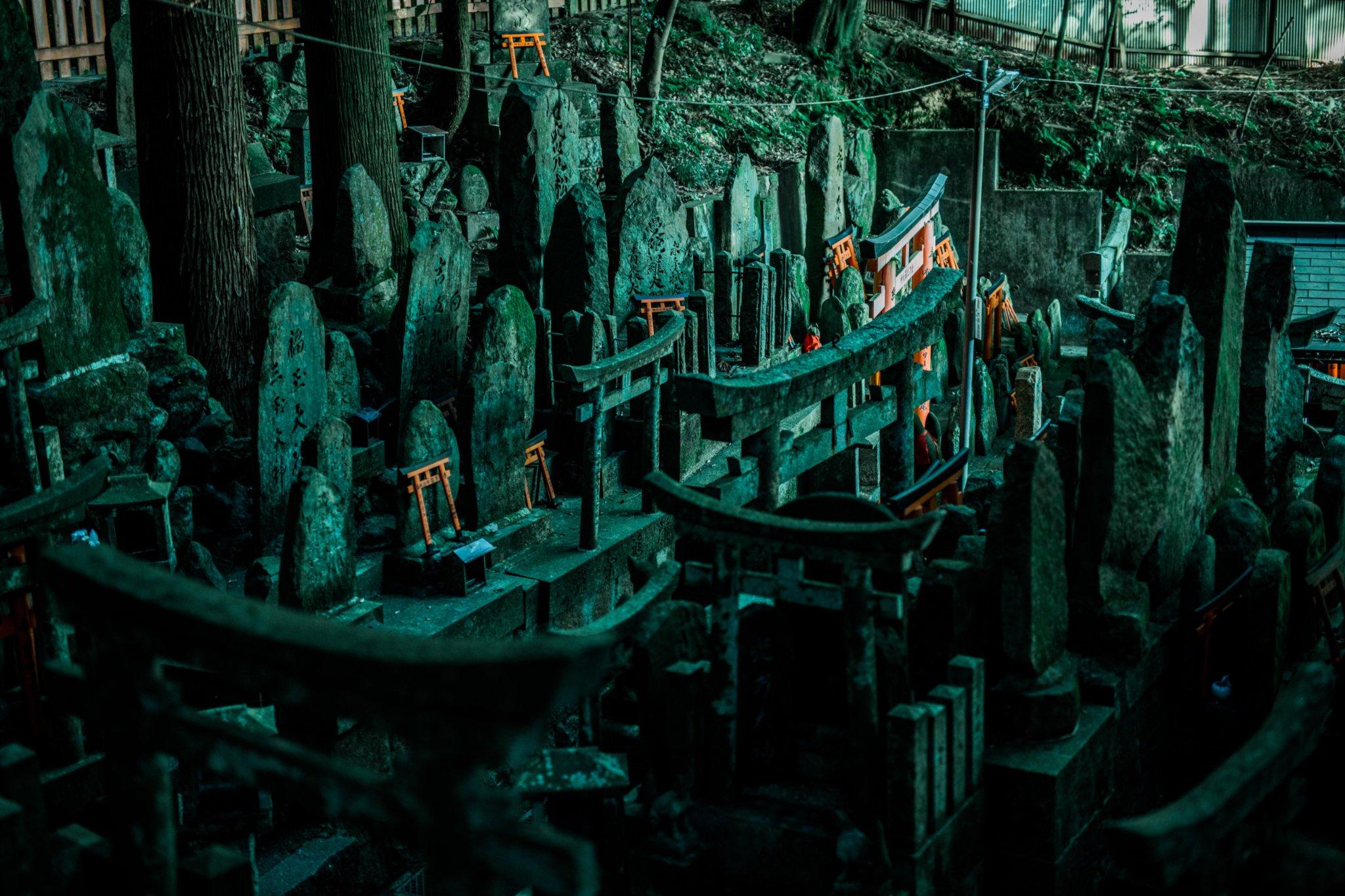 伏見稲荷神社は奥に行けば行くほど魔境じみていくのが面白くて定期的に行きたくなる
