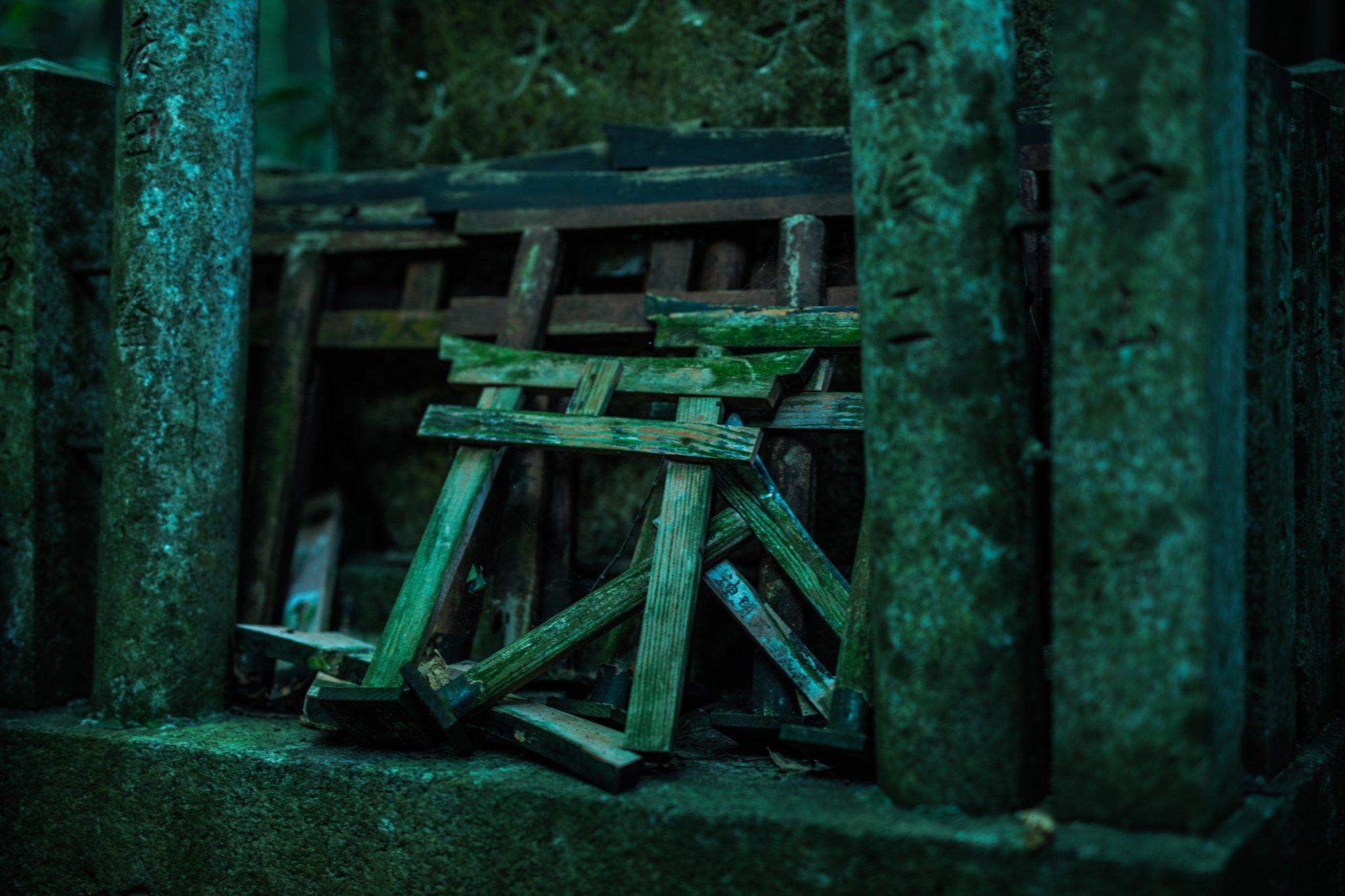 そこには魔境がある?伏見稲荷神社は奥に行けば行くほど魔境じみてるwww