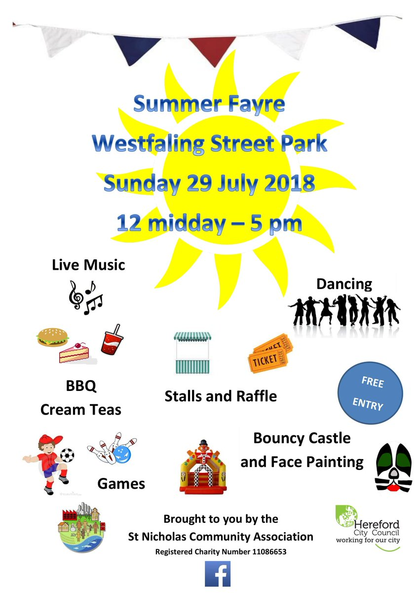 herefordcitycouncil on twitter summer fayre at westfaling street