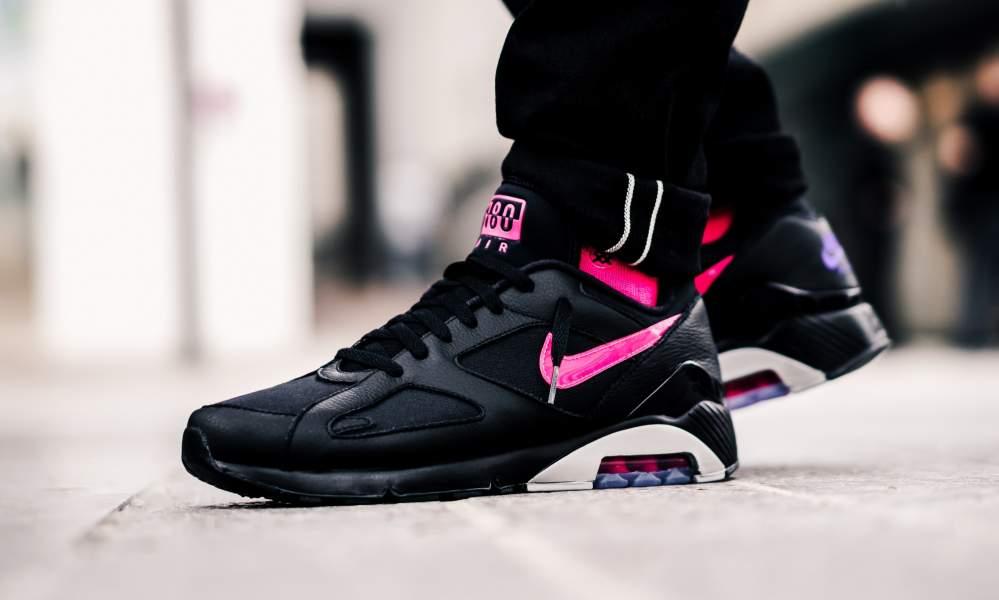 Nike Air Max 180 'Black Pink Blast