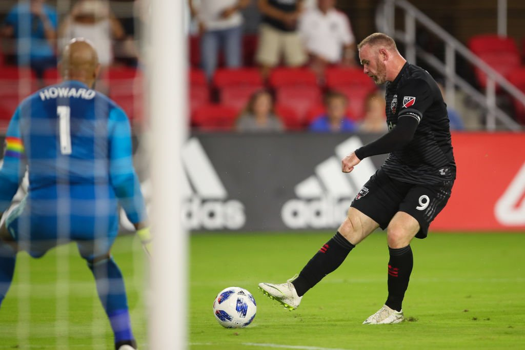 9aabd0ec5 Wayne Rooney has bagged his first goal for DC United