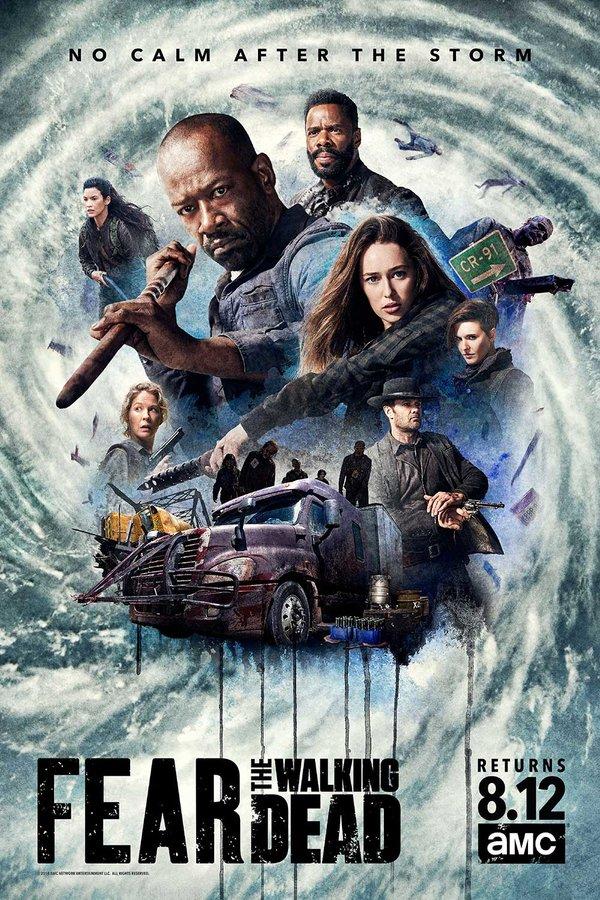 AMC Renews 'Fear The Walking Dead' For A Fifth Season https://t.co/FZarG1lwgm https://t.co/5p9ASmKgFF