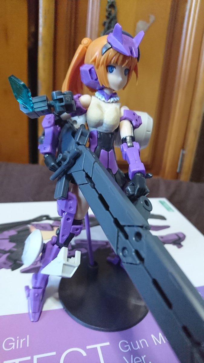 フレームアームズ・ガール アーキテクト Gun Metallic Ver.に関する画像8
