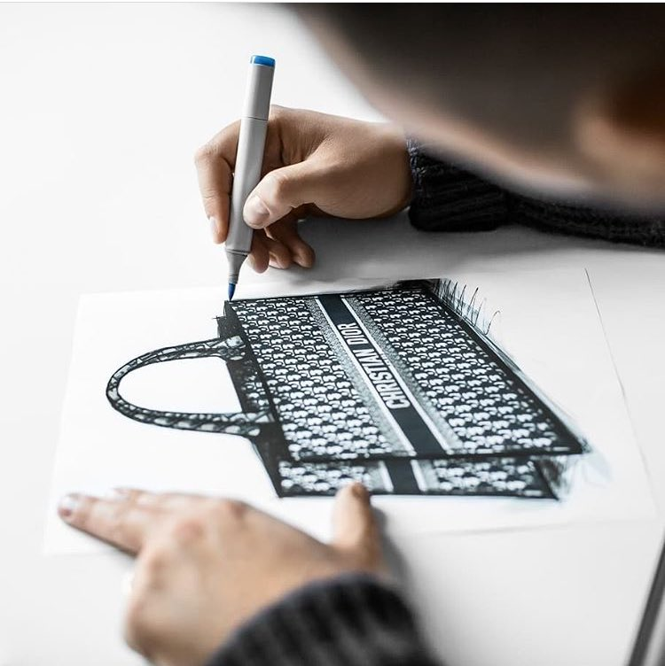 45c93876e Dior Book Tote bag in embroidered Dior oblique canvas – SHE NO BASIC  https://shenobasic.com/dior-book-tote-bag-in-embroidered-dior-oblique-canvas/  ...
