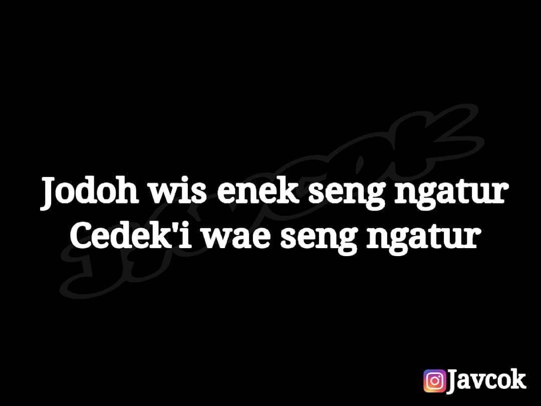 "Quotes Jowo Asli On Twitter ""Tips2 Teko Mimin Iki Lur"