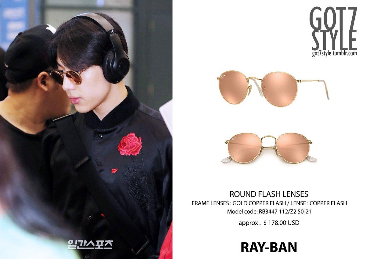 Ray Ban Round Flash Lenses RB3447 112Z2