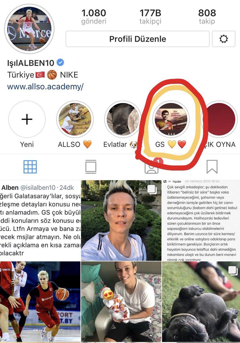 Profilinden Galatasaray'ı sildi diyenlere profilime tekrar bakmayı tavsiye ediyorum. Silmiş olduğum herhangi bir paylaşımım yok. Ülkem ve benim için çok önemli olan Dünya Şampiyonası hazırlık süreci başlamış bulunmakta ve şuanda tüm konsantrasyonum Milli Takımda başarılı olmak.
