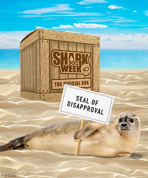 3985c1d1502 The Official Shark Week™ Box not only comes with limited-edition apparel