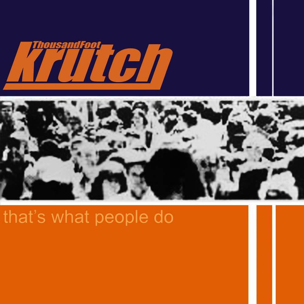 "21 years ago today, ""That's What People Do"" was released as an independent record, the first album as Thousands Foot Krutch! The single ""Rhyme Animal"" became the number one song of the year on LIFE 100.3 in Barrie. Thank you for 21 years of incredible memories & more to come!"