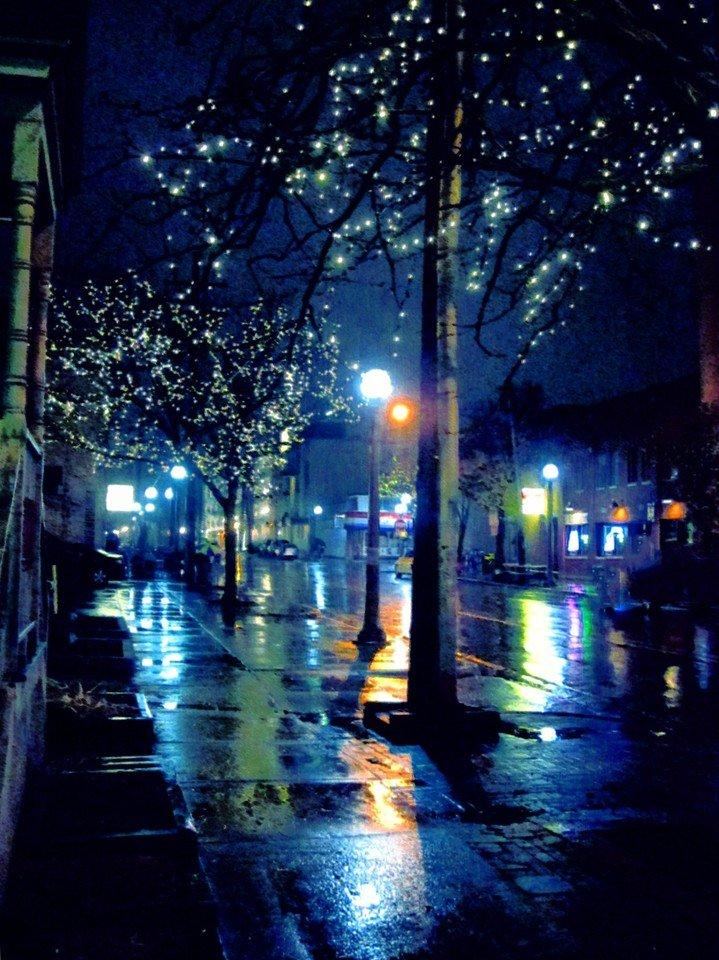 Картинки на телефон ночь дождь