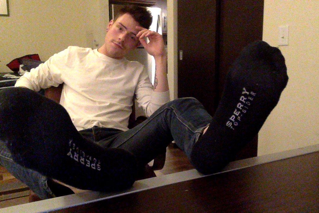 gay footjob