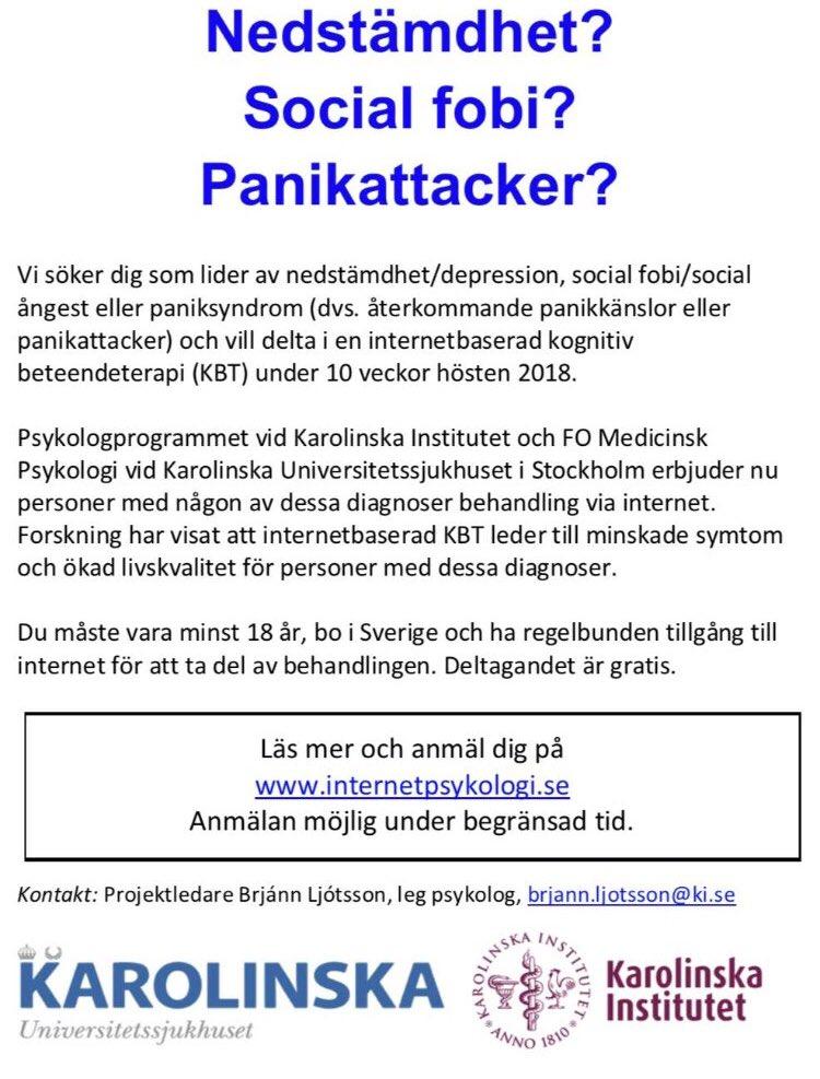 Psykolog på internet gratis