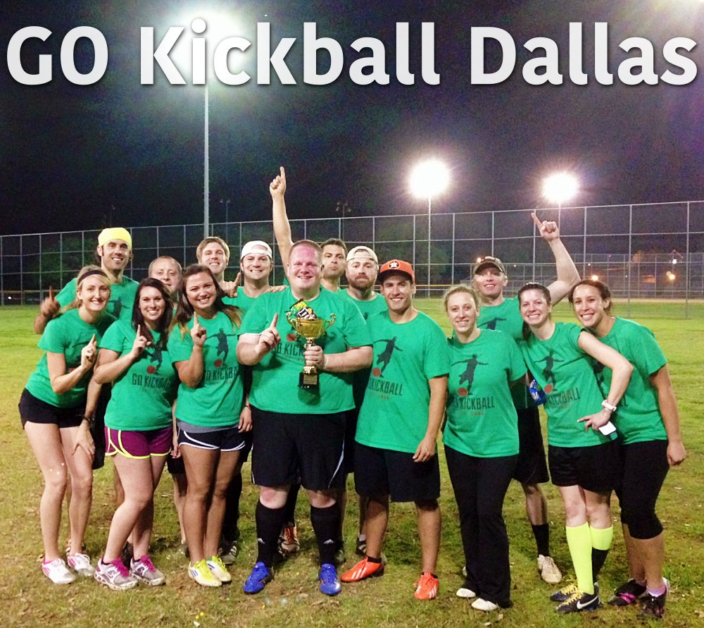 Go kickball dallas