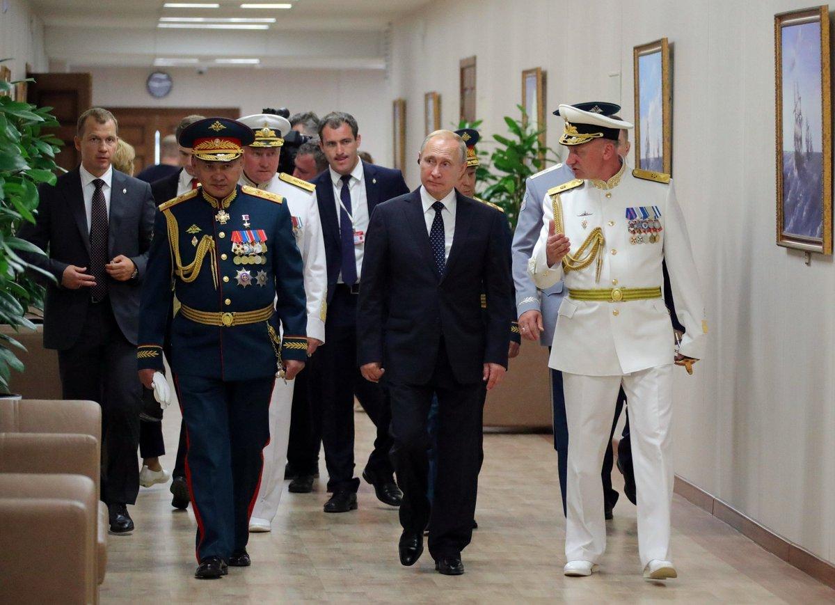 #StPetersburg: Vladimir Putin visited the Nakhimov Naval School bit.ly/2LAtxRL