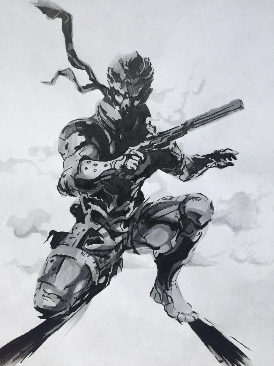 Onlygames On Twitter Solid Snake Por Un Fan Fanart