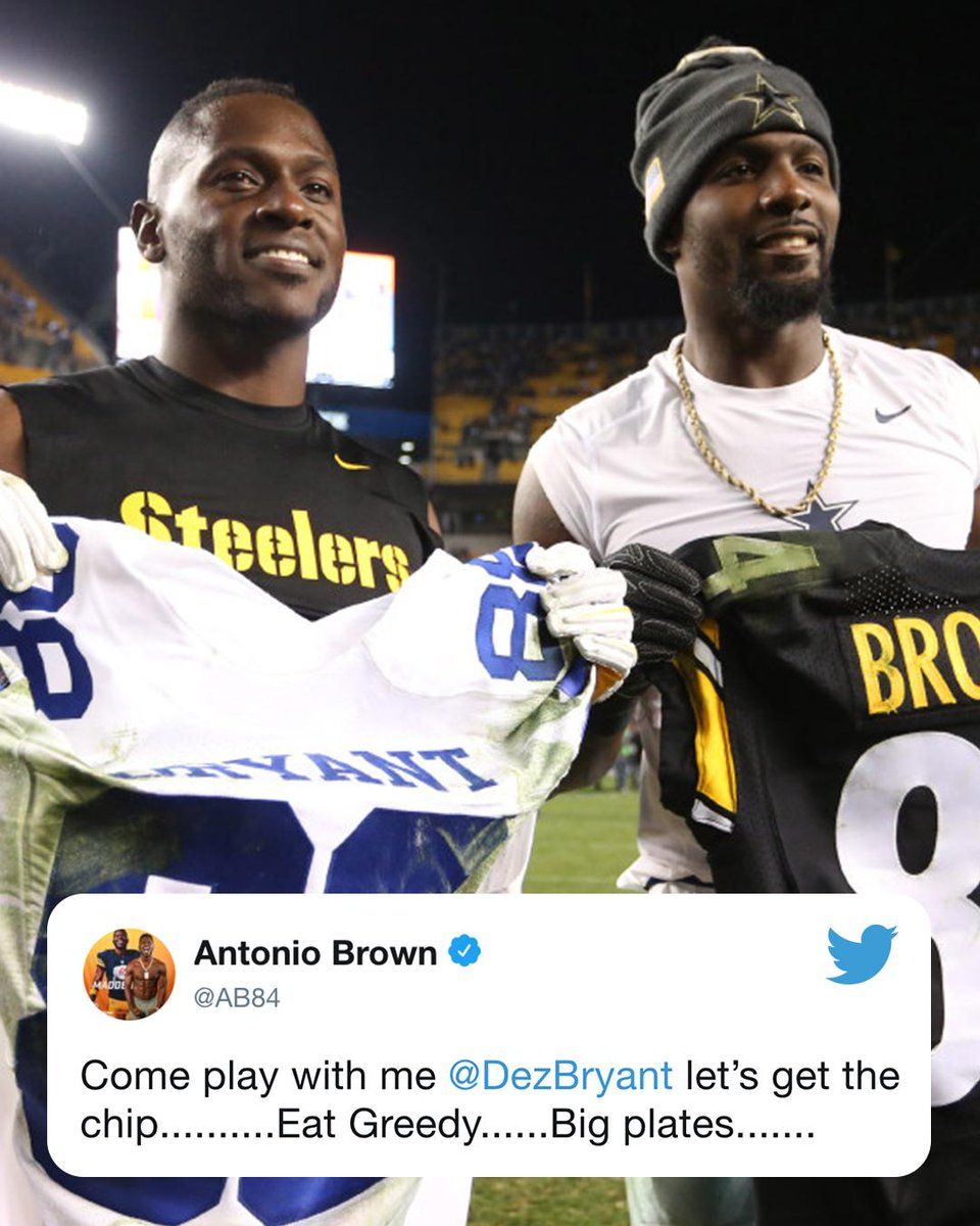 Espn On Twitter Antonio Brown And Dezbryant On The Same