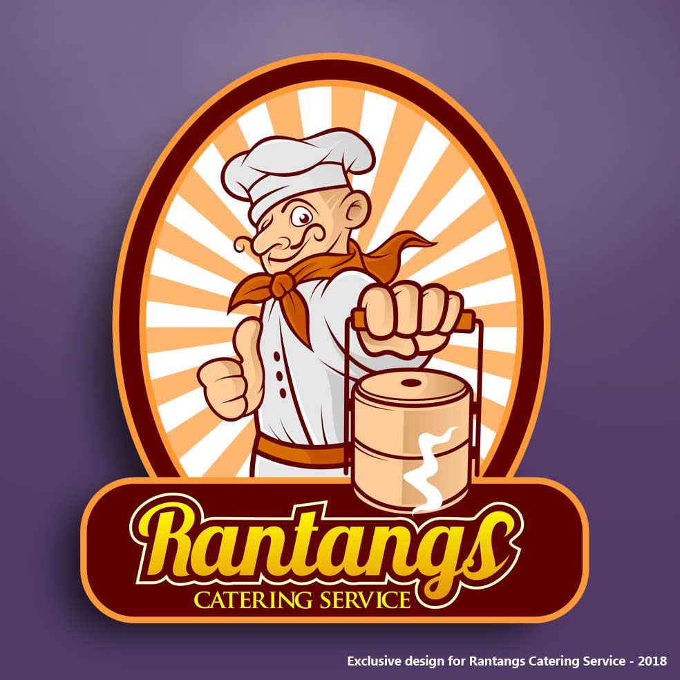 Catering Service Logo Logodesign Mascotdesign Logo