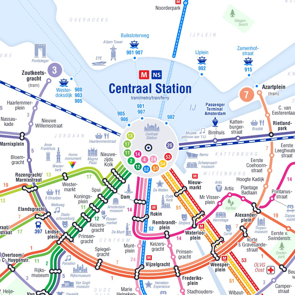 Subway Map Of Amsterdam.Simon Kuestenmacher On Twitter Amsterdam Is Struggling With