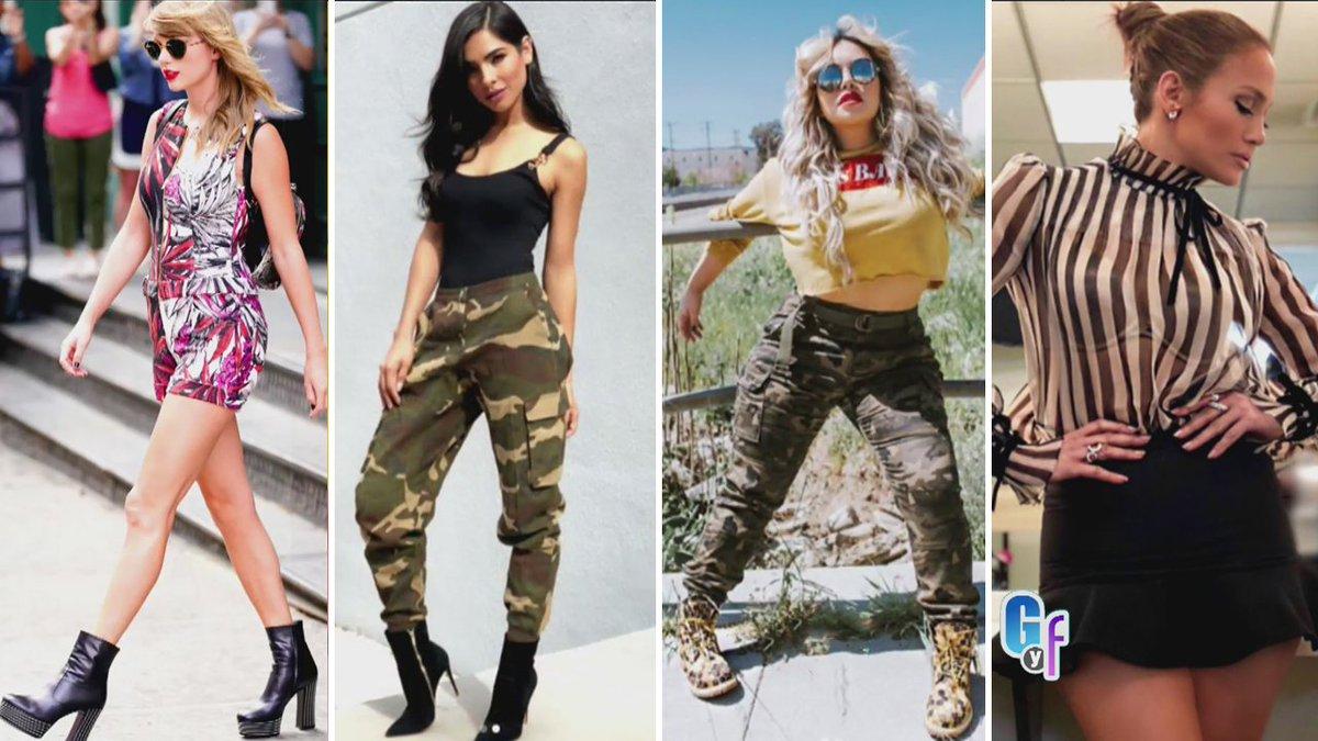 a422bead6 dice no a las botas cortas en verano pero si a la tendencia militar y la