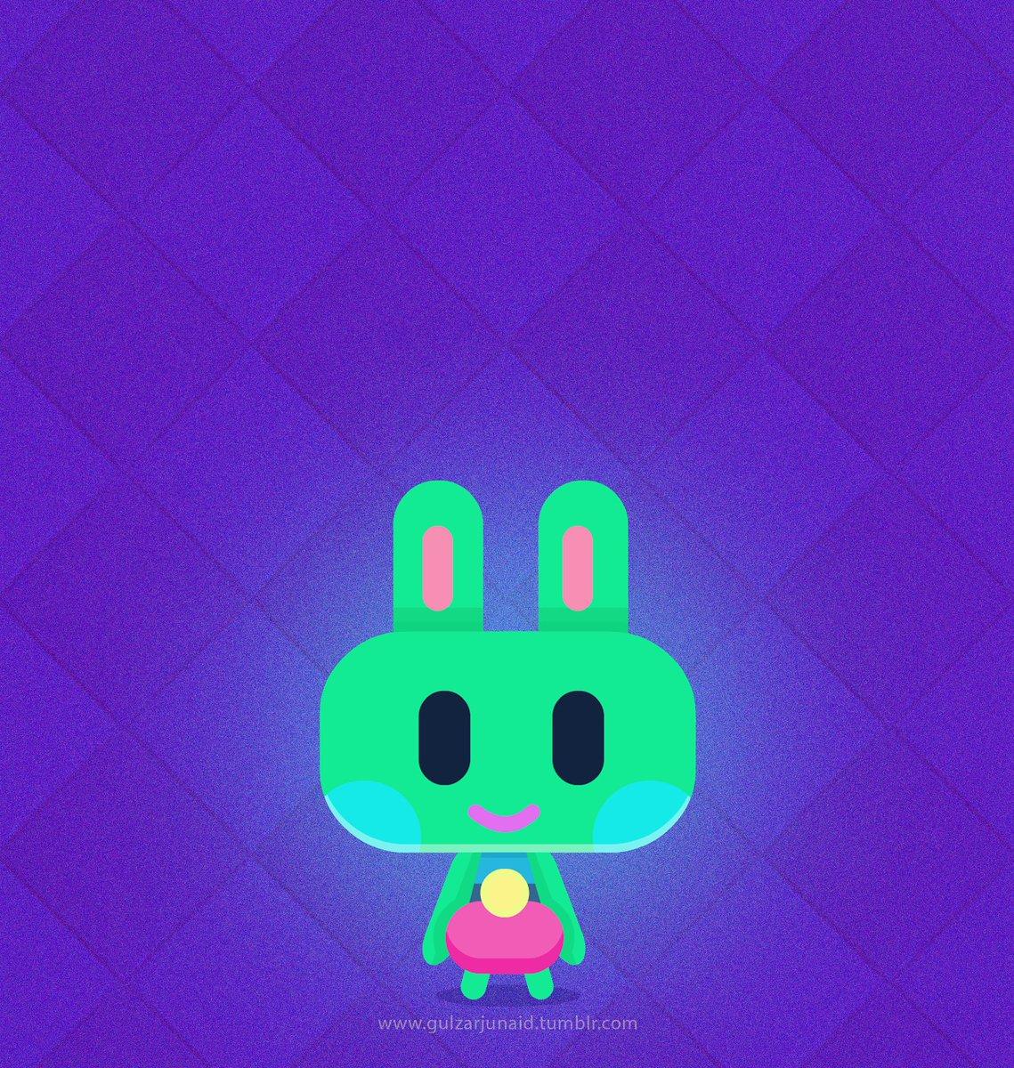 Green Rabbit . . . #Liebe #grünes #Kaninchen #Kunst #2DKunst #2Dart #illustration #Zeichnungpic.twitter.com/Ttfr9XTLGN