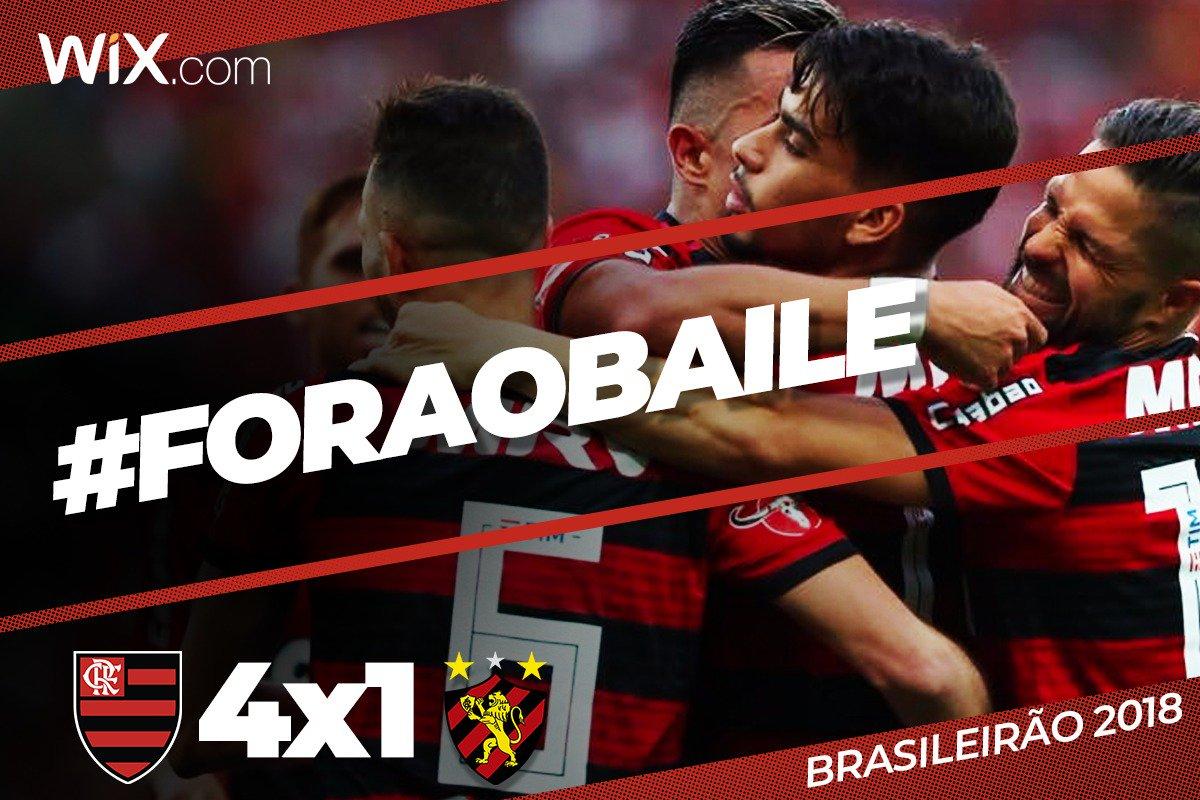 Sob o olhar do pé-quente Vitinho e com um segundo tempo de gala, Réver, Lucas Paquetá, Everton Ribeiro e Uribe marcaram: 4x1 #ForaOBaile  Vem pro @NacaoCRF: https://t.co/FnBbDiNxUt