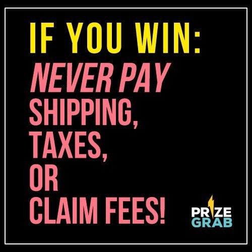 Prizegrab com scam