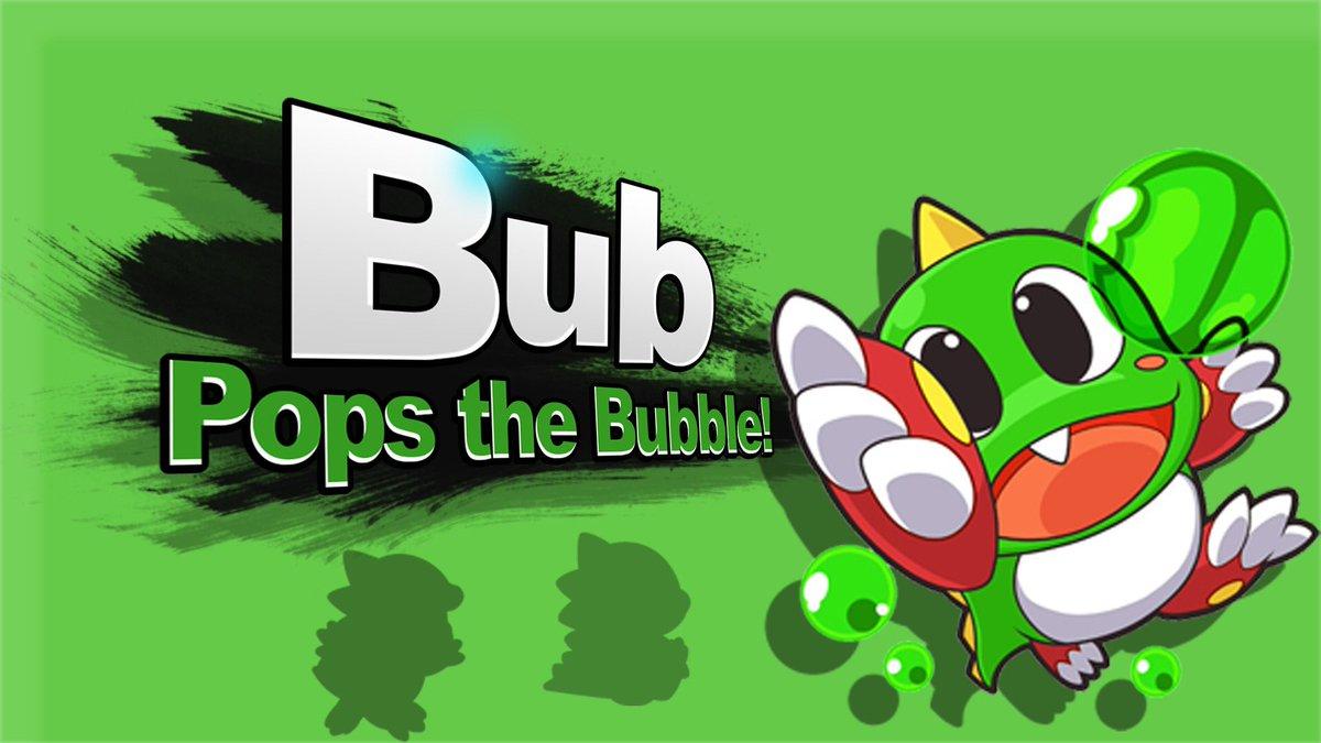 bubble bobble for smash bros ultimate bubblebobblessb twitter
