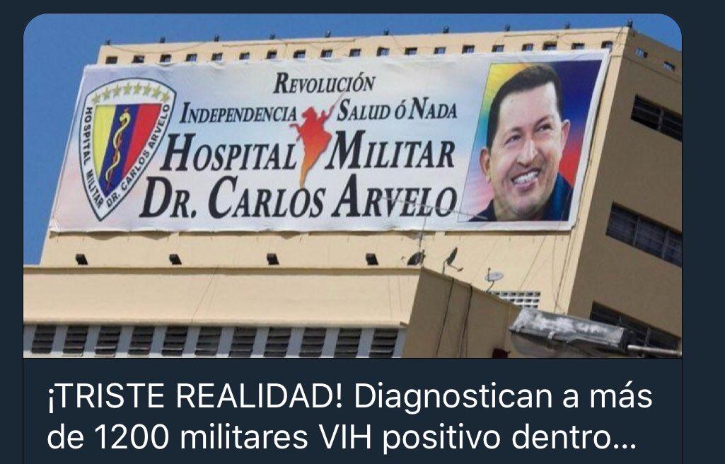 1,200 casos de SIDA entre militares bolivariasnos DjUBL3NXsAAzSRV