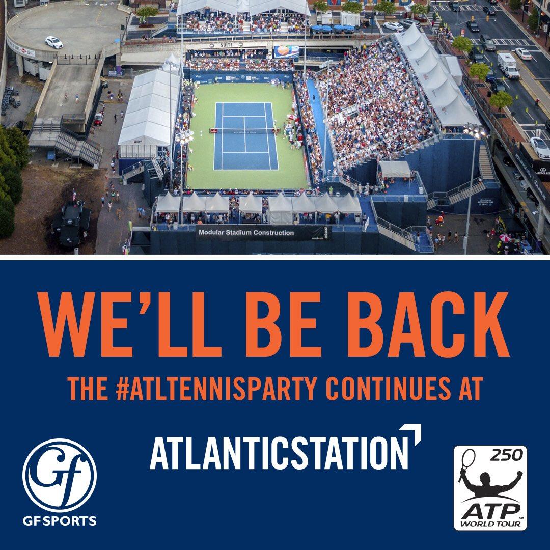 We will see you next year, Atlanta. July 20-28, 2019 #AtlantaOpen #USOpenSeries