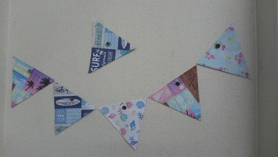 test ツイッターメディア - 100円ショップで 可愛い折り紙を購入したので、 早速教室の デコレーションをしました。p(^-^)q  #折り紙 #100円ショップ #セリア https://t.co/EvBSZOGrZq