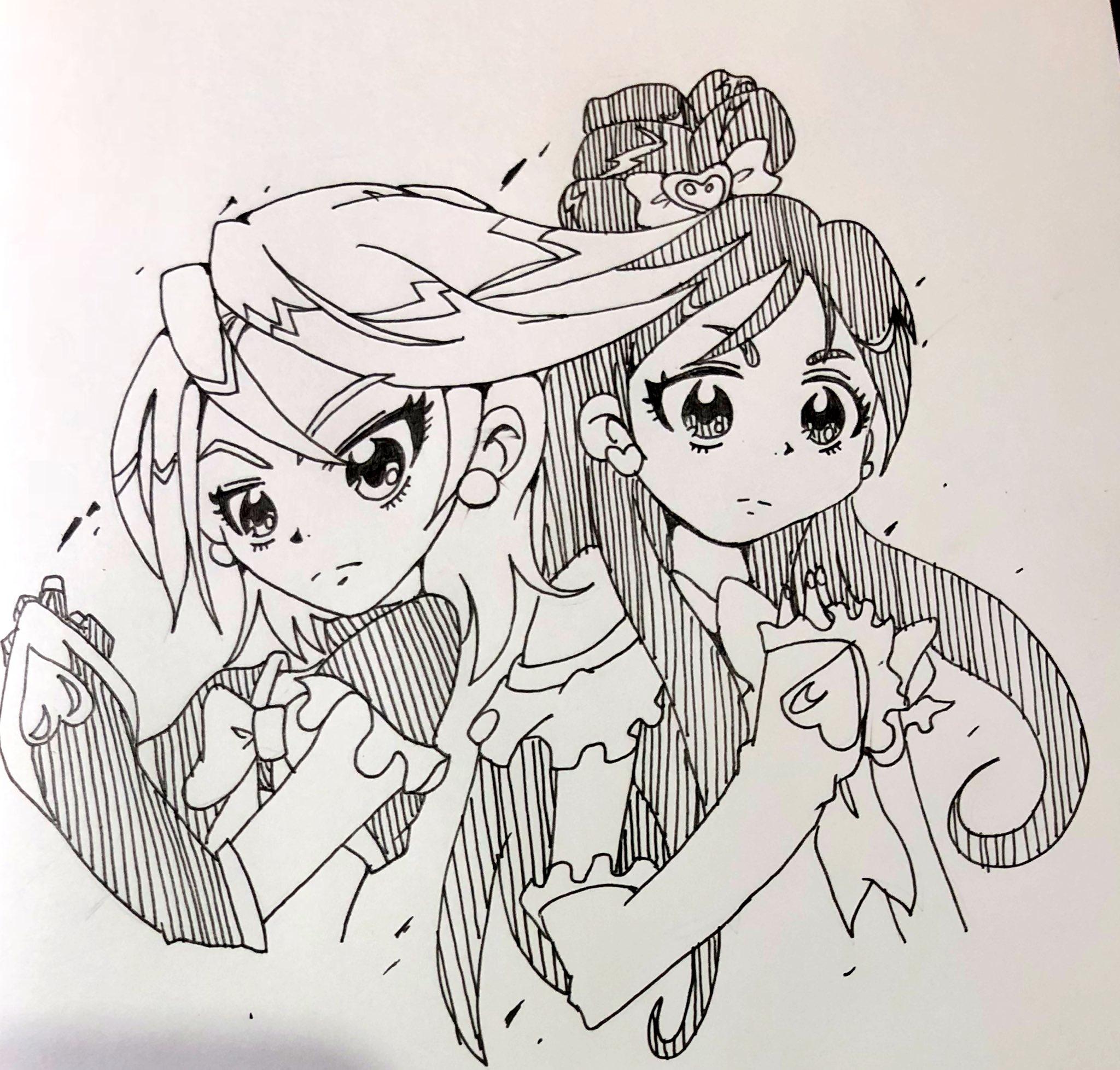 もてピット 元ミバ絵師 書道習い事 (@FOAJfB75Z2xewHE)さんのイラスト