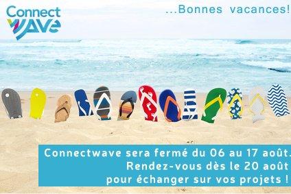 Image for the Tweet beginning: Toute l'équipe @Connectwave vous souhaite