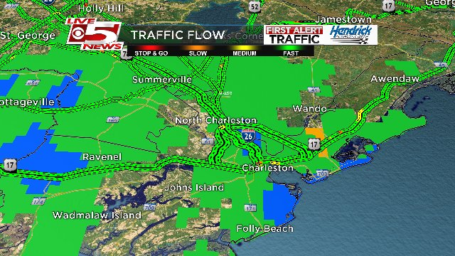 Live 5 Traffic On Twitter Wet Roads Green Blue Patches Mean The