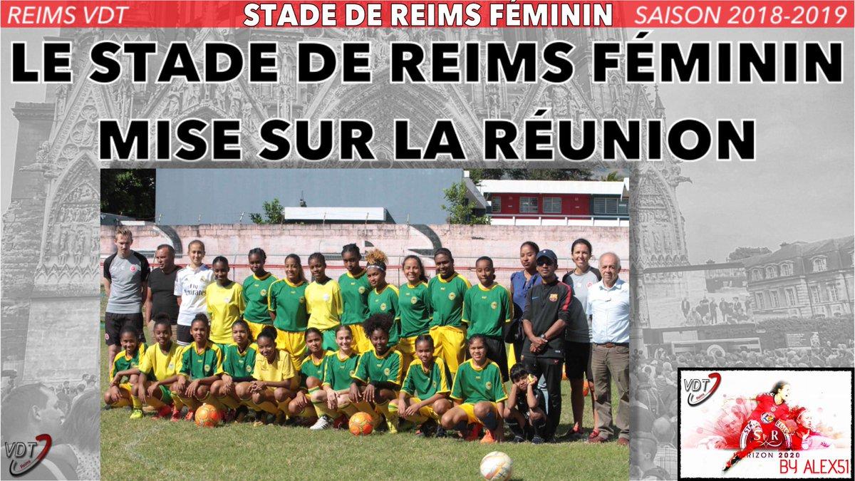 Reims Vdt On Twitter Le Stade De Reims Feminin Mise Sur La Reunion A Lire Https T Co E1tgdsoupx