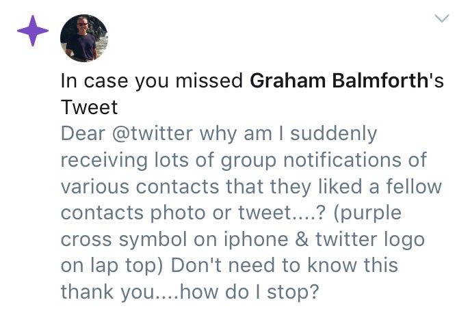 Graham Balmforth On Twitter Dear Twitter Why Am I Suddenly