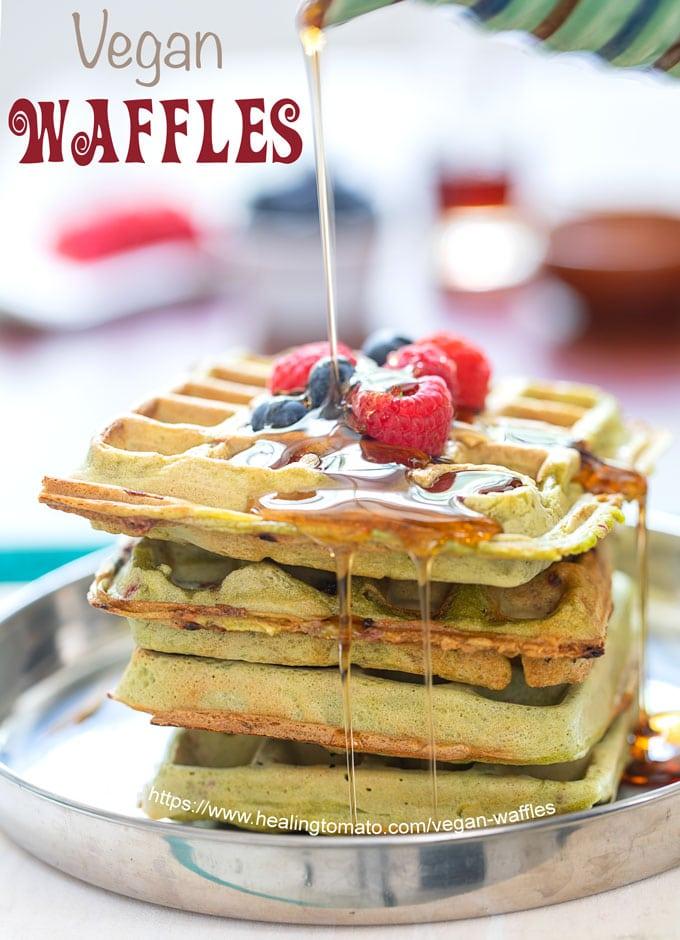 Vegan Waffles Recipe with Kale - Healing Tomato Recipes https://t.co/ravCkd59gd #breakfast #vegan #kale https://t.co/qWYYSUqwoH