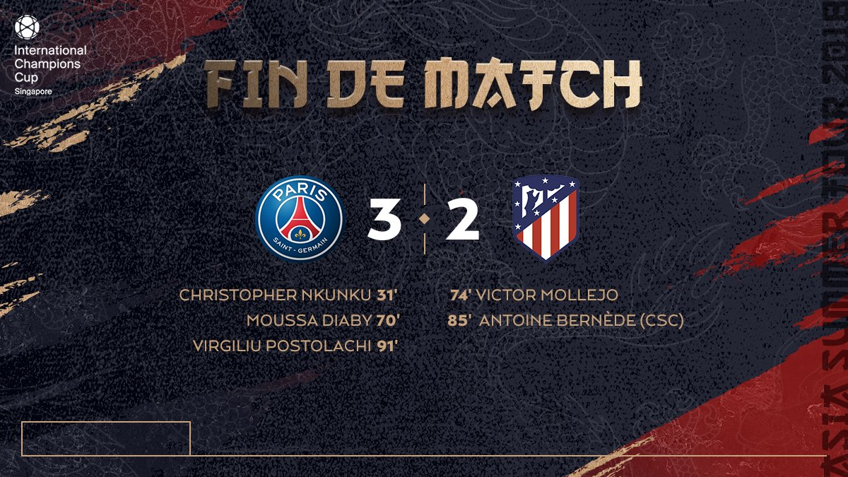 PSG-Atletico Madrid