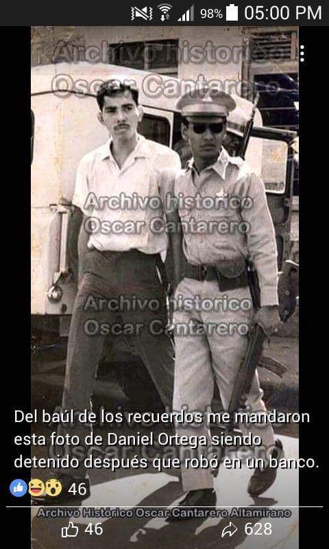 muy de acuerdo con vos.  Como es posible que #DanielOrtega se llame comandante cuando el se escondía en Costa Rica mientras los demás peleaban la revolución del 79? Ortega es una pena y desgracia al #FSLN #NicaraguaQuierePaz #Nicaragualibre #ortegaysomozasonlomismo
