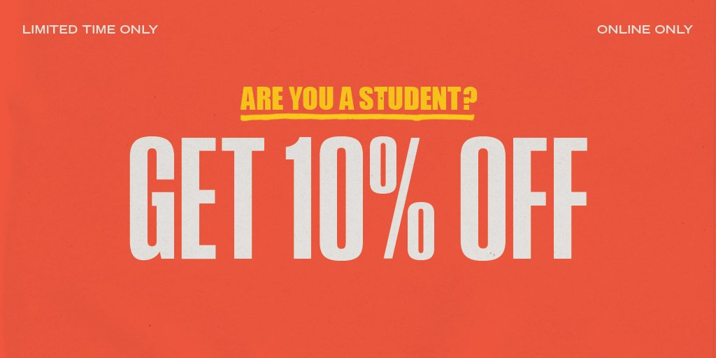Urban Outfitters On Twitter Attn Students Get Your Discount
