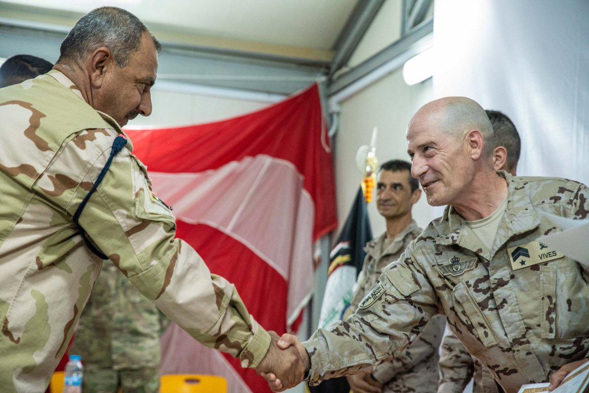 جهود التحالف الدولي لتدريب وتاهيل وحدات الجيش العراقي .......متجدد - صفحة 3 DjW9rEyU8AE9vv6