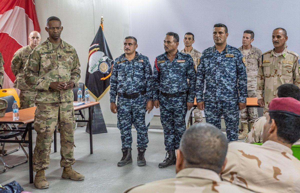 جهود التحالف الدولي لتدريب وتاهيل وحدات الجيش العراقي .......متجدد - صفحة 3 DjW9rFwU8AI4P4r
